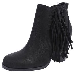 Vince Camuto Harlin Fringe Booties